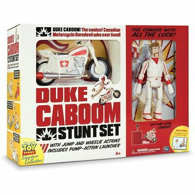 New Toy Story Signature Collection Duke Caboom Stunt Set