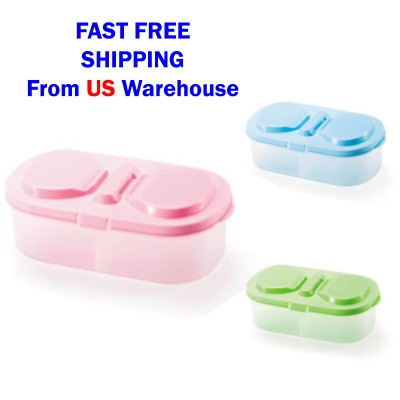 Kitchen Plastic Food Box Container for Fresh Fruit and Snacks Storage or Sauce