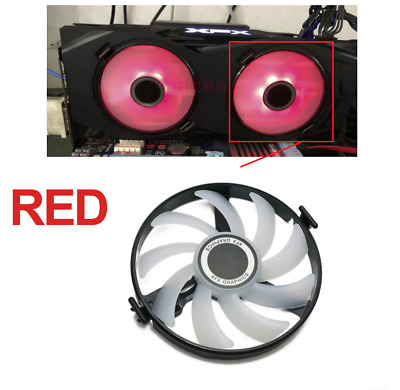 1pc GPU Cooler Fan Replace For XFX AMD Radeon RX 470 480 570 4G 580 8G RX460 460