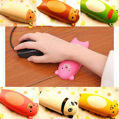 Cute Soft Animal Squishise Comfort Wrist Support Mouse Pad Slow Rising Scented