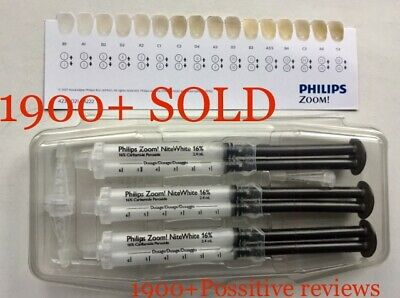 Philips Zoom Whitening 16%, 3 X Syringes Pack , Expiry 09/2021 ✅