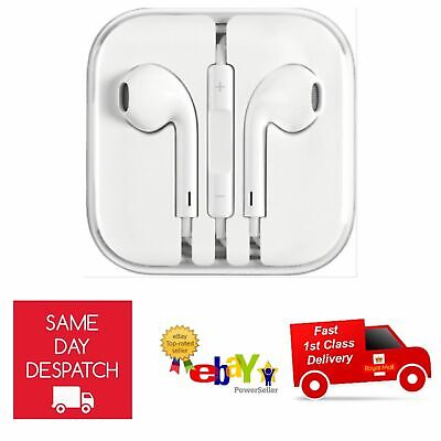 New Earphones Headphone For Apple iPhone 6s 6 5c 5 5S 5SE iPad Handsfree