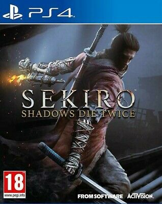 SEKIRO: Shadows Die Twice - PlayStation 4 PS4 Nuovo MULTILINGUA ITALIANO