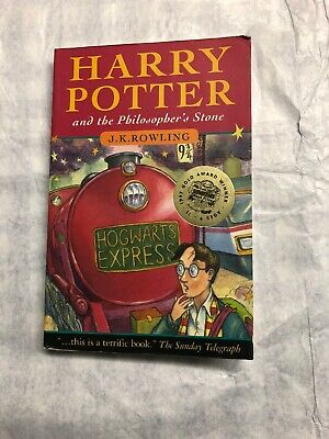 Harry Potter and the Philosopher's Stone by J. K. Rowling 1st Edition Signed