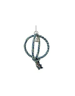 Paradise Bird Double Ring Swing Parrot Toy WW-M00732