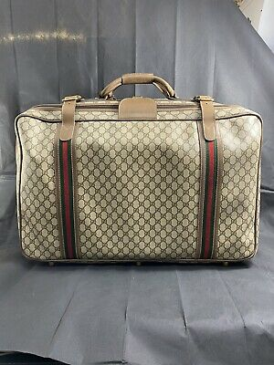 Original vintage gucci travel bag Trunk GG Luggage Clothes
