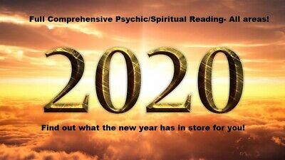 *NEW* Psychic Spiritual  Reading FIND OUT WHAT 2020 HAS IN STORE FOR YOU!
