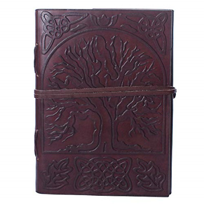 Leather Journal Handmade Daily Notepad Art Sketchbook Travel Diary Notebook G...