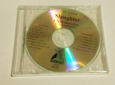 VERY RARE Ice Water Slaughter Life Without Fear Promo CD