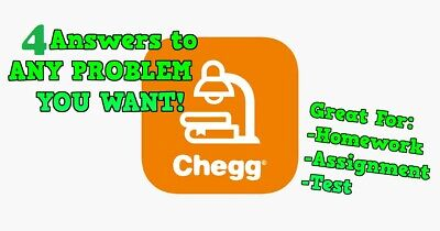 Chegg Answers - Get 4 Answers for Assignments/Homework/Test