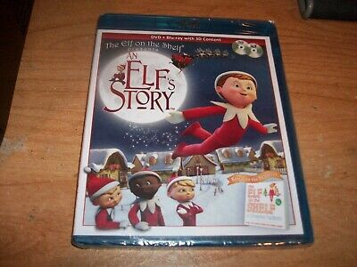 The Elf On The Shelf Presents An Elfs Story (Blu-ray Disc, 2011, 3D) Movie NEW