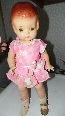 """Vintage Effanbee Patsy-Ann Composition Doll Pat. No. 1283558 Jointed 18"""""""