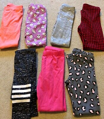 Lot of (7)—OLD NAVY & TARGET—Girls/Child Leggings Pants—size 7/8–NEW no tags!
