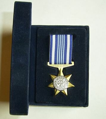 AUSTRALIAN SECURITY MEDAL MOUNTED (ready to wear) IN PRESENTATION BOX