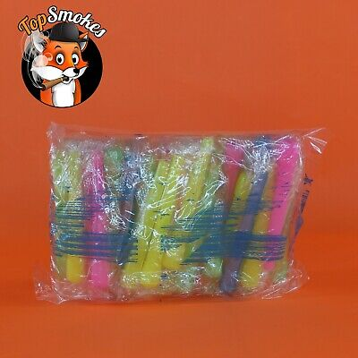 50 Extra Long Individually Wrapped Hookah Hose Mouth Tips with Sanitary Bag
