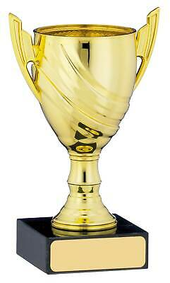 "Gold Cup Trophy Award 5""  ,Free p&p & Engraving"