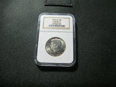 1976-D 50C NGC MS 65 Kennedy Half Dollar Certified NGC #110043-001