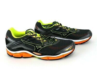 MIZUNO RUNNING WAVE Enigma 5 Electric Blue Yellow White