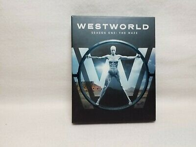 Westworld ~Season One: The Maze ~ 3-Disc Set w/ Booklet ~ Bluray
