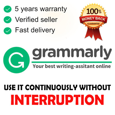 Grammarly Premium Account - Fast Delivery