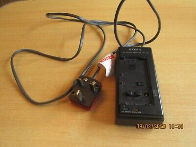 Sony video camera battery charger ac-v30 Untested