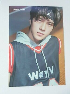 K-POP WayV 2020 SEASON'S GREETINGS OFFICIAL LIMITED HENDERY POSTCARD