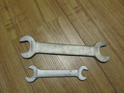 2 Fairmount Open End Wrenches 1 1/8, 1,  5/8, 3/4 Good Old Wrenches