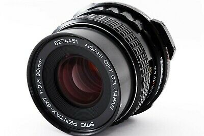 【EXC+++++】SMC Pentax 6x7 90mm f/2.8 MF Lens for 6x7 67 67II From Japan #191109-P