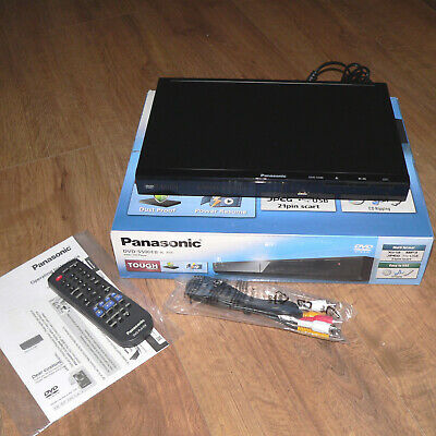 Panasonic DVD-S500EB-K DVD Player with SCART, divX Playback and USB (N)