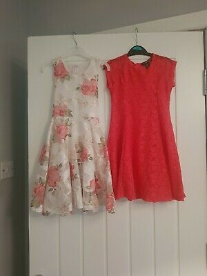 Two Beautiful Party Dresses Age 5-6 Never Worn