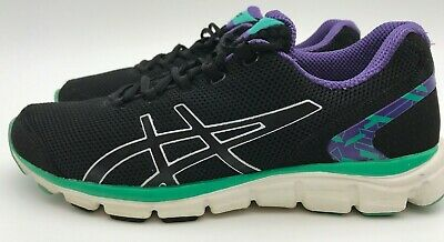 ASICS GEL FORTE WOMENS Size 8.5 Gray Purple Running Shoes