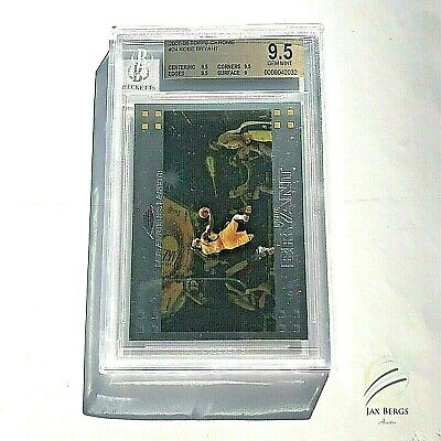 KOBE BRYANT  2007-'08 TOPPS CHROME CARD #24 BECKETT GRADED GEM Mint BGS 9.5 !!!!