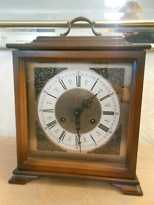 F H S Franz Hermle Vintage Mantel Clock - Works Perfectly with Bing Bong Chimes