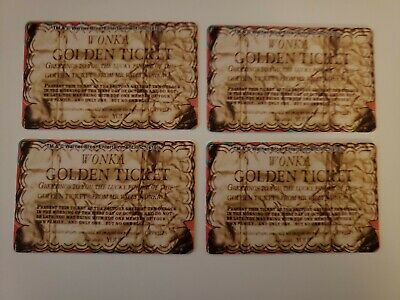 NEW Willy Wonka Coin Pusher Arcade 4 Golden Tickets