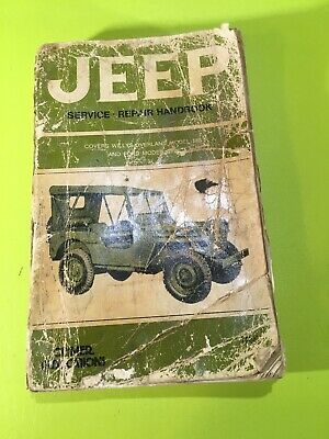 1948-1956 Willys Jeep Pickup Station Wagon Shop Manual Overland Truck Repair