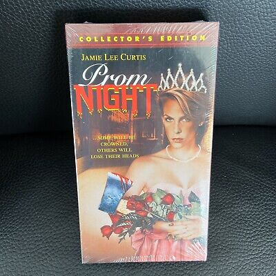 Prom Night vinyl decal sticker horror 80/'s fanogoria gore vhs jamie lee curtis