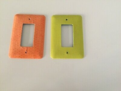 Designer Electrical Outlet Plates, Hand Crafted