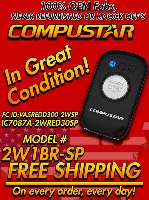 Compustar 2W1BR-SP 2-way Remote with LED Display