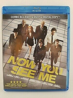Now you see me: Blu-ray / DVD movie - Canadian - tested - with Warranty