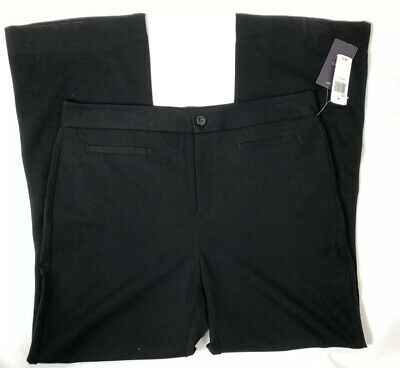 NWT Not Your Daughters Jeans NYDJ Womens 14 Original Slimming Fit Pants Black