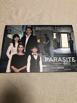 FYC Bong Joon Ho's Parasite color booklet Song Kang Ho Emmys Golden Globe Film