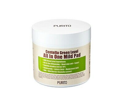 *PURITO* Centella Green Level All In One Mild Pad [130ml/70pads]