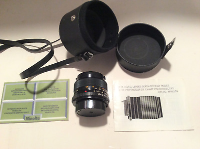 Minolta Celtic 28mm F2.8 Lens w/ carrying case: Excellent condition, hardly used