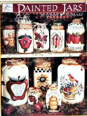 1999 - Painted Jars - Decorative Tole Painting Book by Conny Hubbard