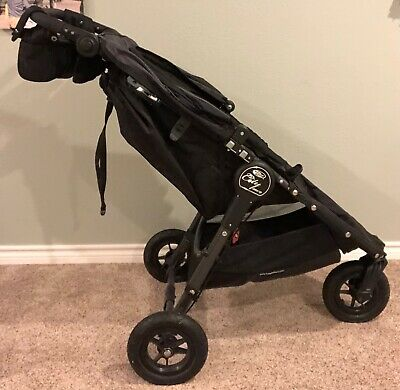 Baby Jogger City Mini GT Single Stroller Black WITH parent console accessory!
