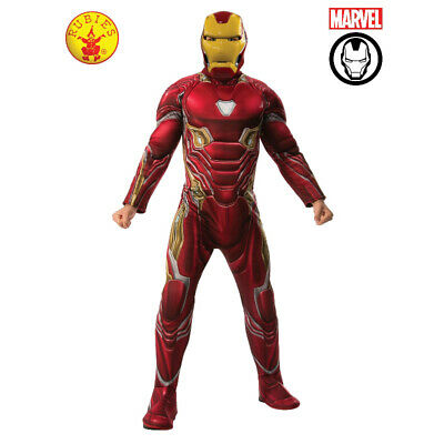 IRON MAN LICENSED AVG4 DRESS UP COSTUME 2 x SIZES BY RUBIE'S **NEW**