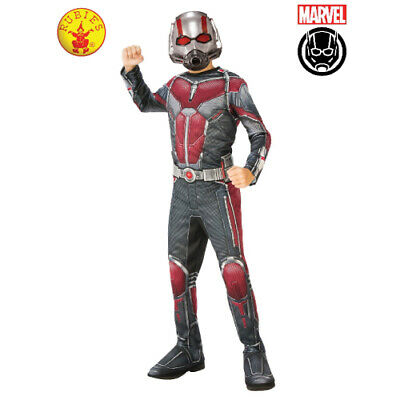 ANT-MAN CLASSIC LICENSED AVENGERS MARVEL CHILD COSTUME 3 x SIZES BY RUBIE'S *NEW