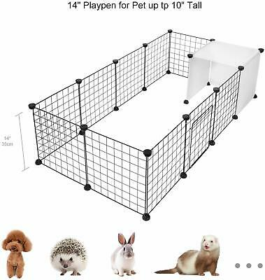 Yard Kennel Playpen Small Animal Cage Indoor Portable Dog Puppy Cat Rabbit Fence