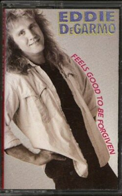 Eddie DeGarmo—Feels Good To Be Forgiven 1988 XIAN Soul Rock Cassette Tape & Key