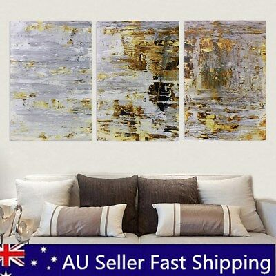 3Pcs 60x40cm Retro Abstract Canvas Print Oil Painting Wall Picture Home   DA